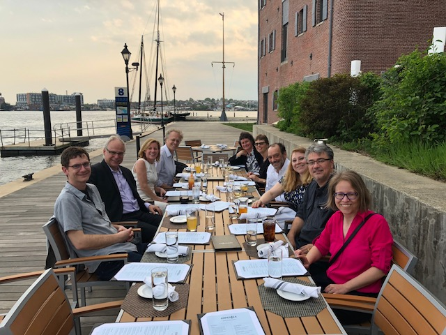 Placenta Symposium 2018 Speakers Dinner Baltimore MD