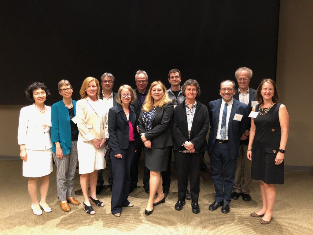 Placenta Symposium 2018 speakers - Laura Schulz, Tracy L. Bale, Susan J. Fisher, Thomas Jansson, Brain Cox, Alex Bonnin, Irina Burd, Janine LaSalle, Dani Fallin, Xiaobin Wang, Daniel R. Weinberger, and Yoel Sadovsky
